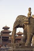 Bishwanath Mandir, Durbar Square, UNESCO World Heritage Site, Patan, Kathmandu Valley, Nepal, Asia