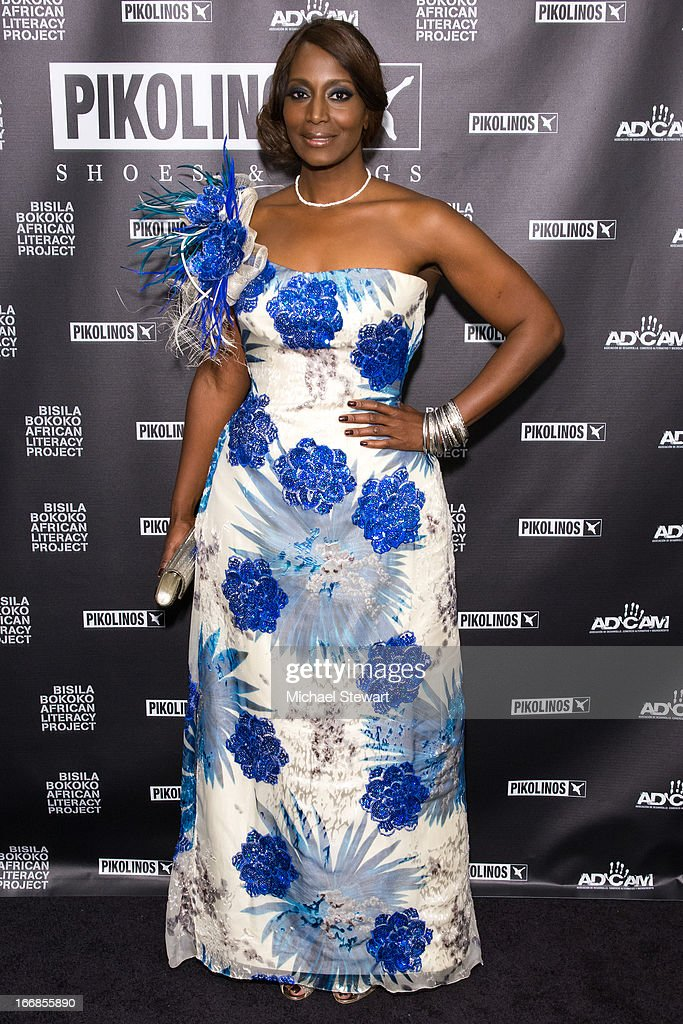 Bisila Bokoko attends the 2013 Pikolinos Gala Dinner at the United Nations on April 17, 2013 in New York City.