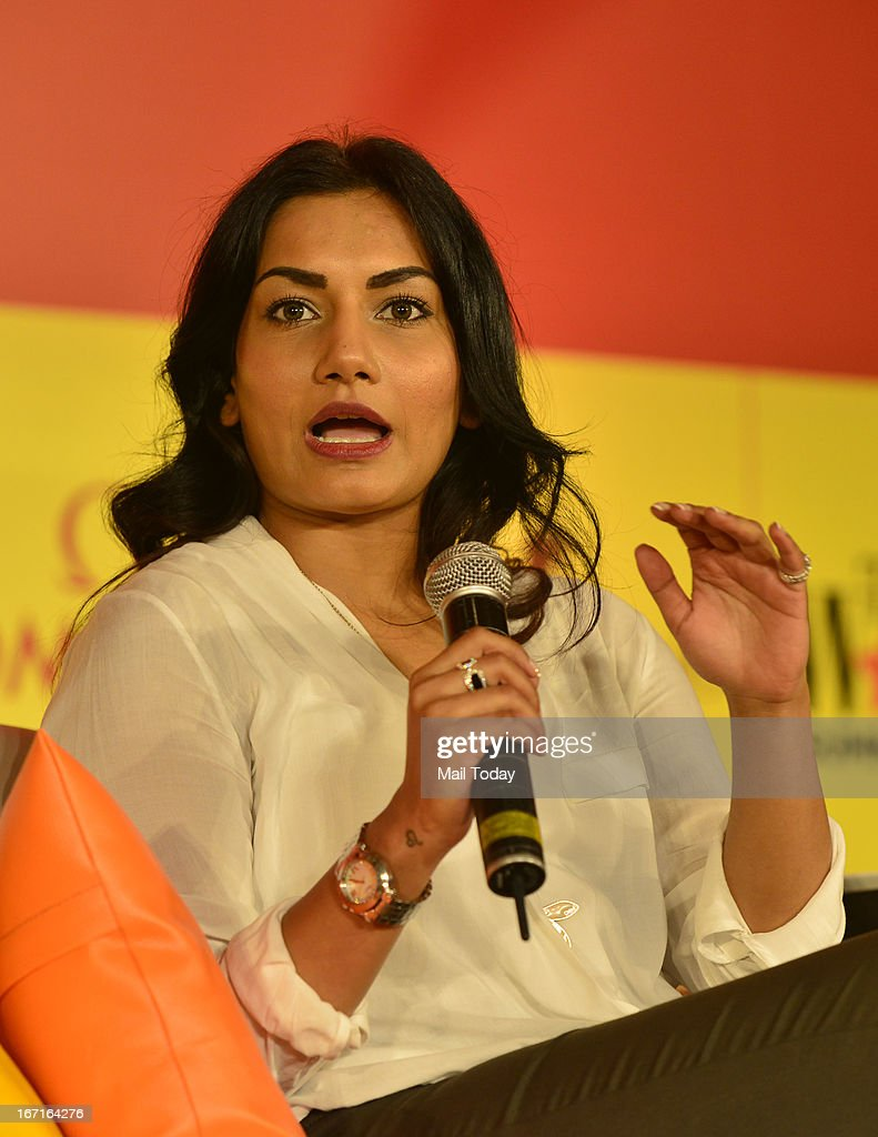 India Today Woman Summit 2013 : News Photo