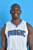 Bismack Biyombo of the Orlando Magic poses for a head shot on July 7 2016 at Amway Center in Orlando Florida NOTE TO USER User expressly acknowledges...