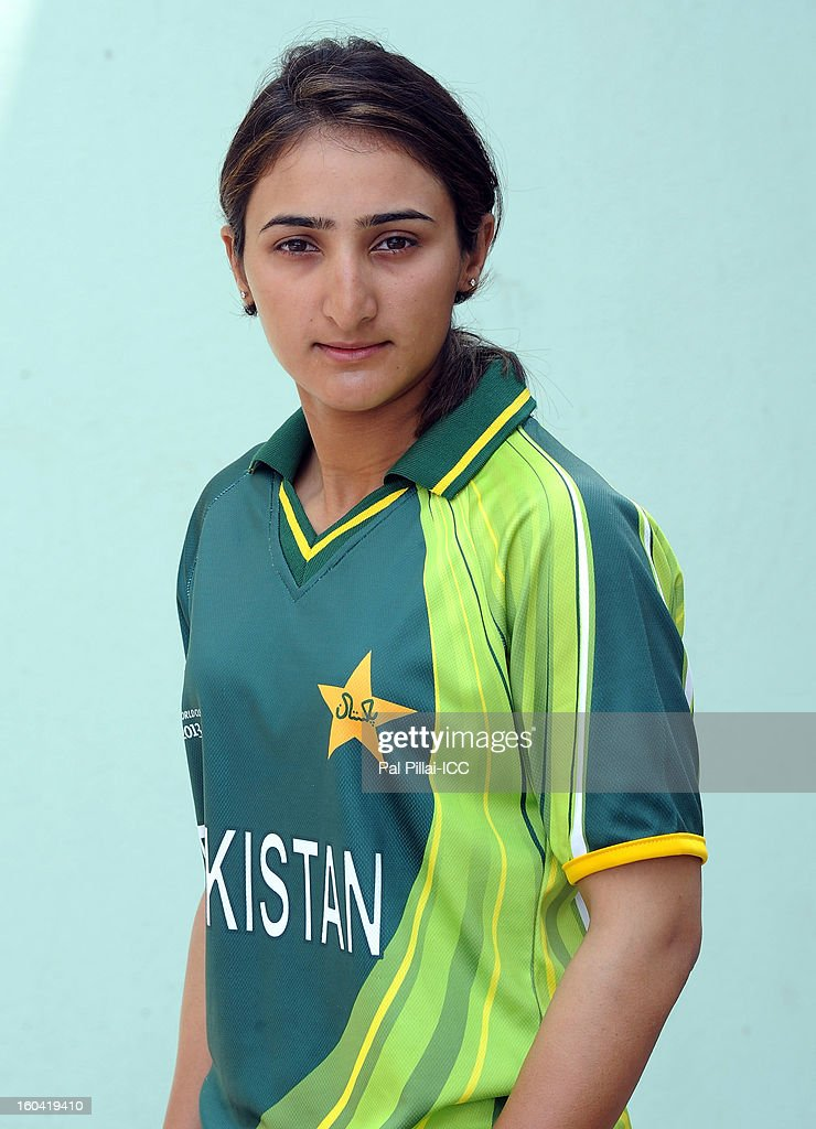 Bismah Maroof of Pakistan attends a portrait session ahead of the ICC Womens World Cup 2013 at the Barabati stadium on January 31, 2013 in Cuttack, India.