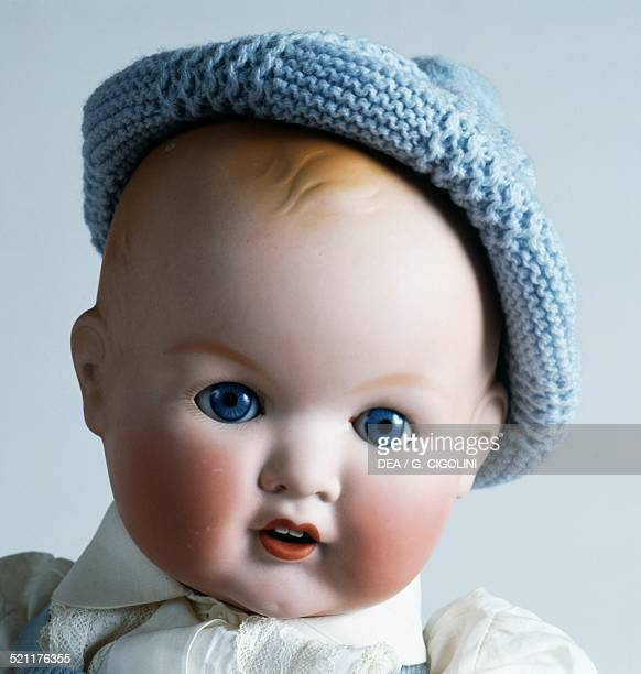 Bisque baby doll No 518/9k made by Armand Marseille 1930 Germany 20th century Detail Germany