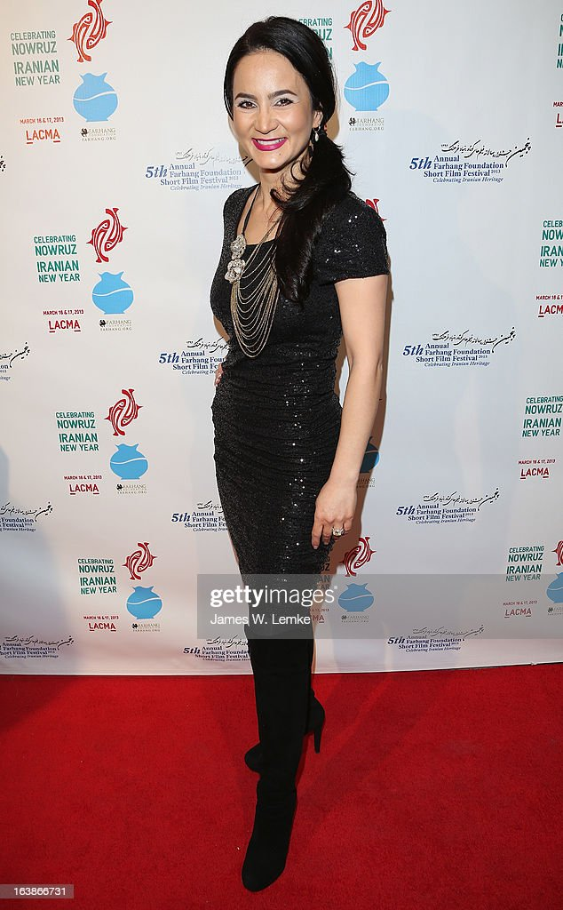 Bita Milanian attends the 2013 Farhang Foundation Short Film Festival held at the Bing Theatre at LACMA on March 16, 2013 in Los Angeles, California.