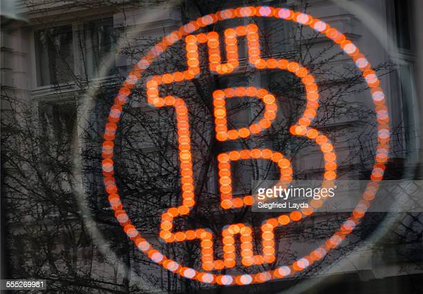 Bitcoin LED sign