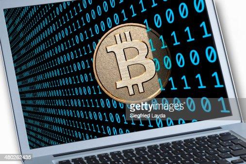 Bitcoin : Stock Photo