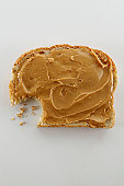 A Bite Out of Peanut Butter Toast