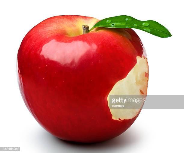 Morder de manzana