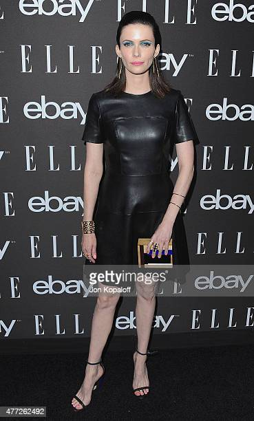 Bitsie Tulloch arrives at the 6th Annual ELLE Women In Music Celebration Presented by eBay at Boulevard3 on May 20 2015 in Hollywood California