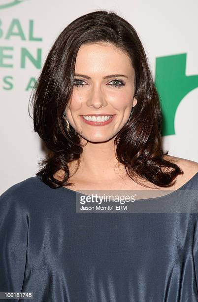 Bitsie Tulloch attends Global Green USA's 5th Annual Pre Oscar Party at Avalon Hollywood on February 20 2008 in Los Angeles California
