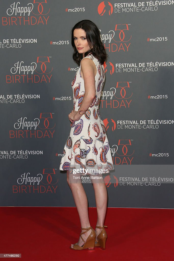 <a gi-track='captionPersonalityLinkClicked' href=/galleries/search?phrase=Bitsie+Tulloch&family=editorial&specificpeople=4616199 ng-click='$event.stopPropagation()'>Bitsie Tulloch</a> attends the 55th Anniversary Party at the Monte Carlo Beach on June 16, 2015 in Monte-Carlo, Monaco.