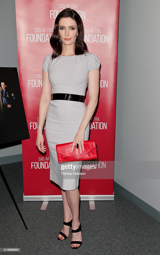<a gi-track='captionPersonalityLinkClicked' href=/galleries/search?phrase=Bitsie+Tulloch&family=editorial&specificpeople=4616199 ng-click='$event.stopPropagation()'>Bitsie Tulloch</a> attends the SAG-AFTRA Foundation Conversations with the 'Grimm' cast at SAG-AFTRA Foundation on March 5, 2016 in Los Angeles, California.