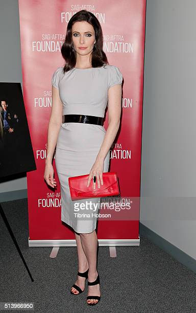 Bitsie Tulloch attends the SAGAFTRA Foundation Conversations with the 'Grimm' cast at SAGAFTRA Foundation on March 5 2016 in Los Angeles California