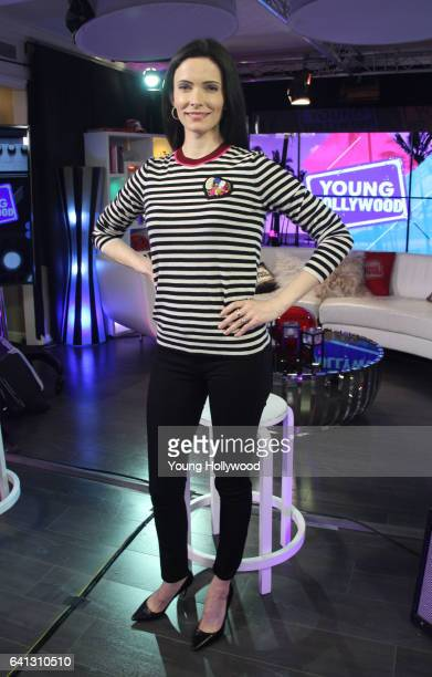 Bitsie Tulloch visits the Young Hollywood Studio on February 8 2016 in Los Angeles California