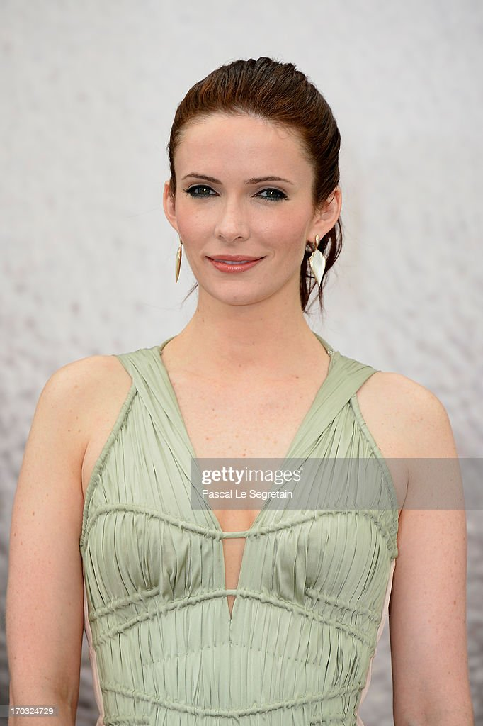 BitsieTulloch poses at a photocall during the 53rd Monte Carlo TV Festival on June 10, 2013 in Monte-Carlo, Monaco.