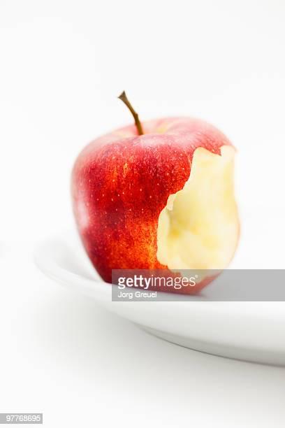 Bitten apple (Gala)