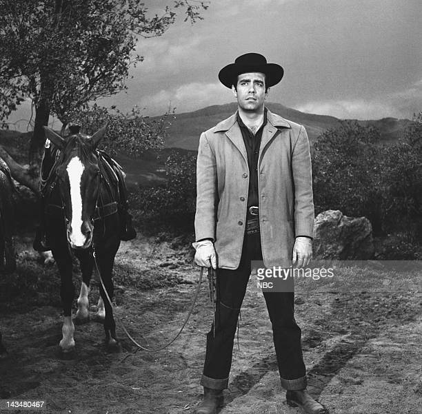 BONANZA 'Bitter Water' Episode 29 Aired 4/9/60 Pictured Pernell Roberts as Adam Cartwright