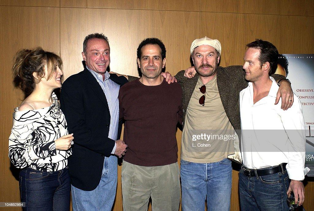Bitty Schram Stanley Kamel actor / producer Tony Shalhoub Ted Levine and Jason GrayStanford