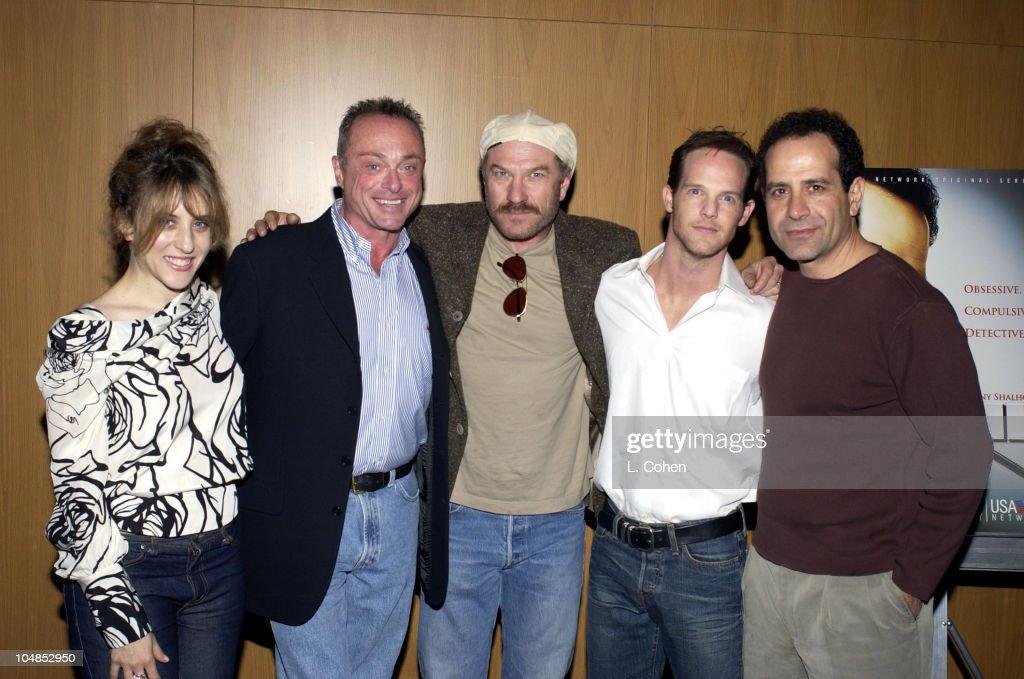 Bitty Schram Stanley Kamel Ted Levine Jason GrayStanford and actor / producer Tony Shalhoub