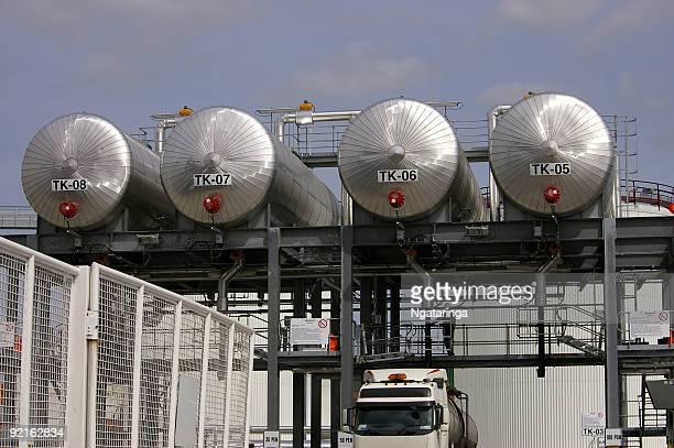 Bitumen-Tankstelle