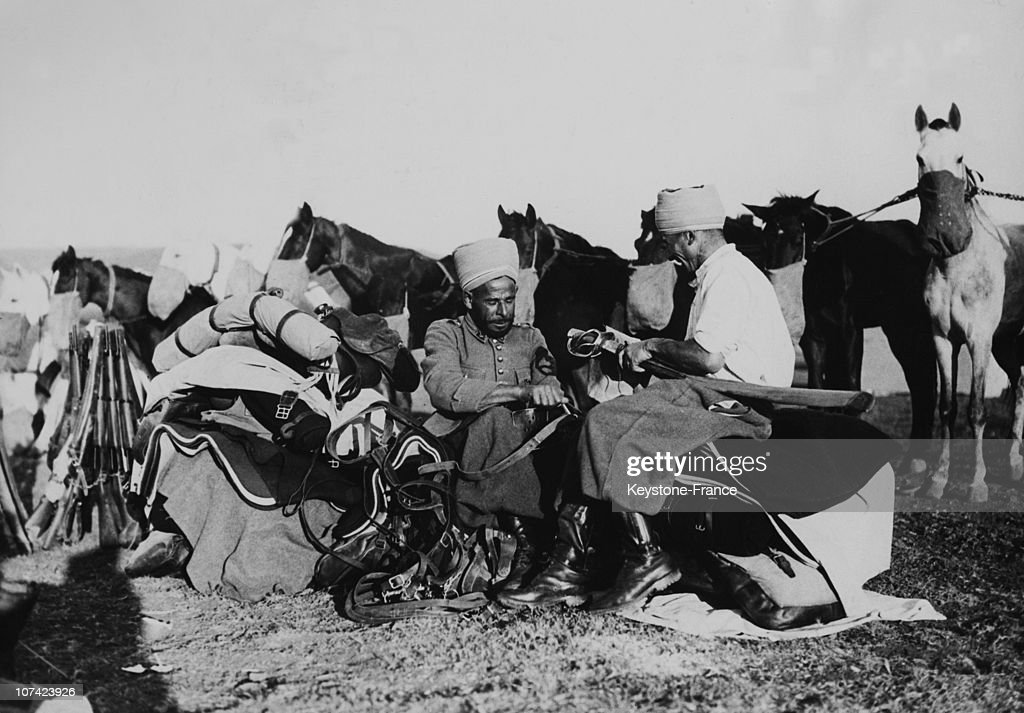 Bivouac At Djebel Druze In Syria On May 1940
