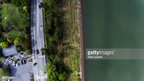 Biwa Lake Bird View