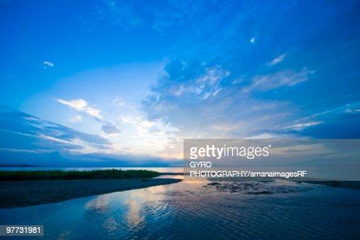Biwa Lake. Otsu, Shiga Prefecture, Japan : Stock Photo