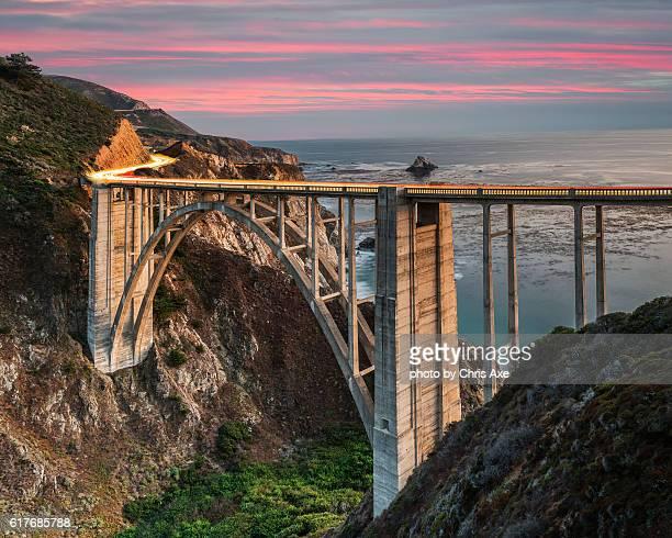 Bixby Bridge at Sunset - Big Sur, CA