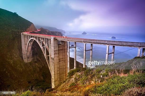 Bixby Bridge, Big Sur, California, Stati Uniti
