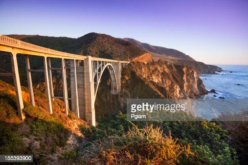 Bixby Bridge, Big Sur, California, USA