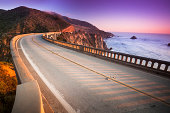 'Bixby Bridge, Big Sur, California, USA'