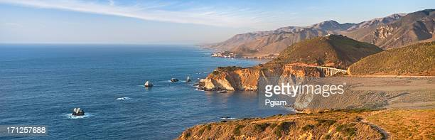 Bixby Bridge panoramic, Big Sur, California, USA