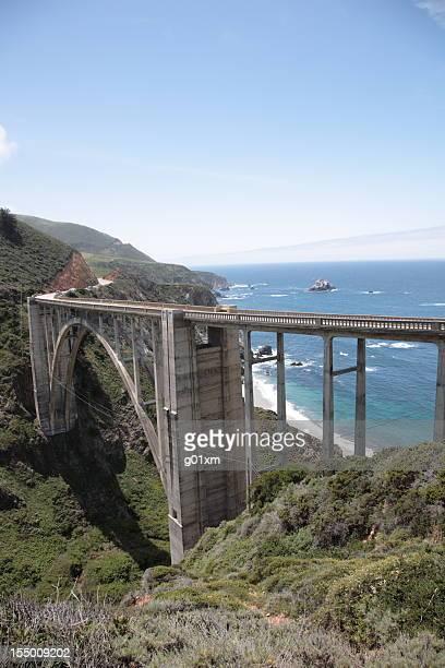 Bixby Creek Bridge del Big Sur in California