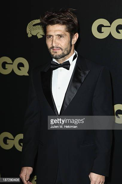 Bixente Lizarazu attends the 'GQ Man Of The Year 2011' ceremony at Hotel Ritz on January 18 2012 in Paris France