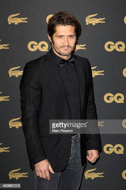 Bixente Lizarazu attends the 'GQ Men of the year awards 2013' at Museum d'Histoire Naturelle on November 20 2013 in Paris France