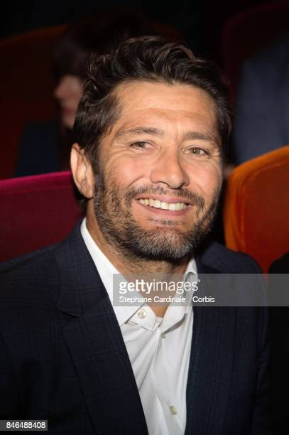 Bixente Lizarazu attends the RTLRTL2Fun Radio Press Conference to Announce Their TV Schedule for 2017/2018 at Cinema Elysee Biarritz on September 13...