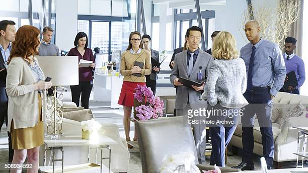 'Bizarro' Kara grows closer with Cat's son Adam on SUPERGIRL Monday Feb 1 on the CBS Television Network Also pictured Mehcad Brooks