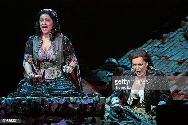 Bizet's 'Carmen' at the Metropolitan Opera House on Friday September 26 2014This imageFrom left Kiri Deonarine and Jennifer Johnson Cano