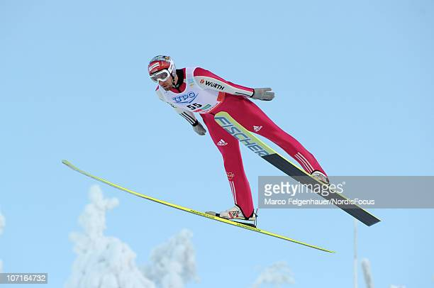 Bjoern Kircheisen of Germany competes in the Gundersen Ski Jumping HS 142/10km Cross Country event during day two of the FIS Nordic Combined World...