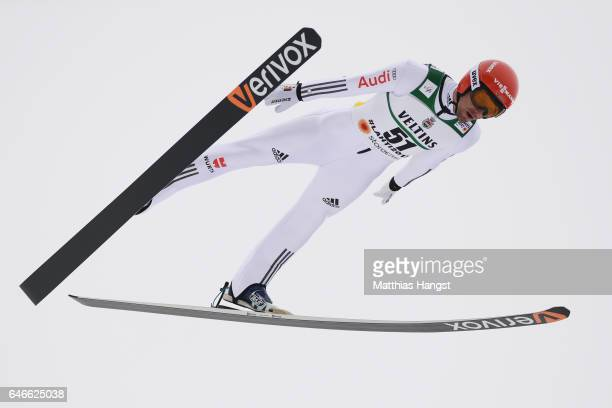 Bjoern Kircheisen of Germany competes in the Men's Nordic Combined HS130 during the FIS Nordic World Ski Championships on March 1 2017 in Lahti...