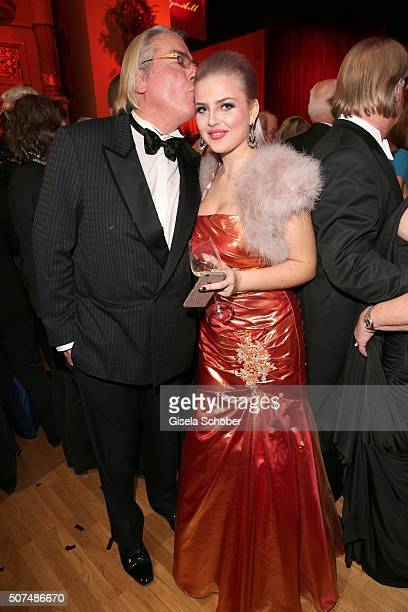 Bjoern Lefnaer partner of Patrizia Blanco and Isabelle Kauz during the Semper Opera Ball 2016 at Semperoper on January 29 2016 in Dresden Germany