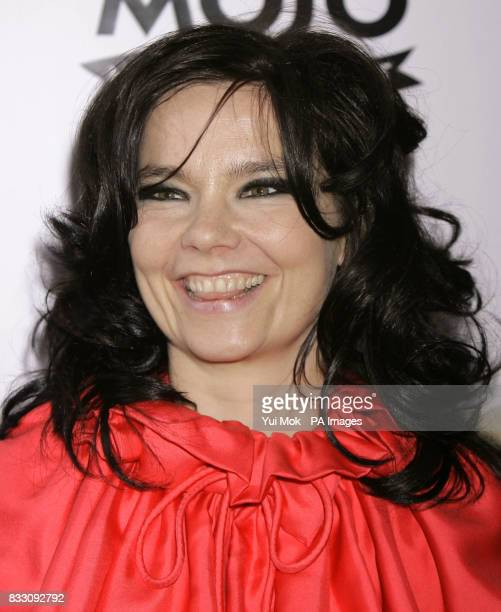 Bjork arrives for the Mojo Honours List award ceremony at The Brewery east London