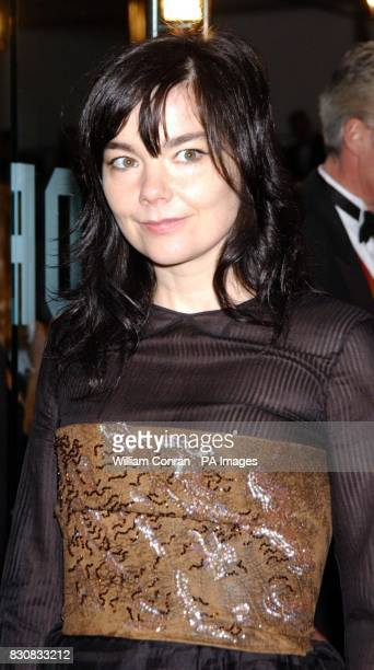 Bjork arrives for the Orange British Academy Film Awards at the Odeon cinema in London's Leicester Square * 02/09/02 The Icelandic singer is the...