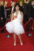 Bjork at the arrivals at the 73rd Annual Academy Awards at Shrine Auditorium in Los Angeles California