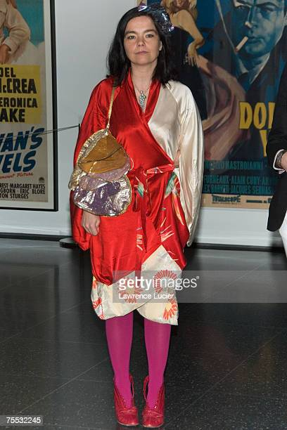 Bjork at the 'Drawing Restraint 9' New York City Screening March 28 2006 at Museum of Modern Art in New York City New York