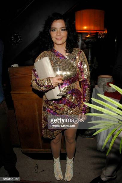Bjork attends ANOTHER MAGAZINE Dinner/Party at Jane Hotel on September 14 2009 in New York City