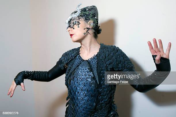 Bjork attends Bjork Digital Opening at Carriageworks on June 4 2016 in Sydney Australia