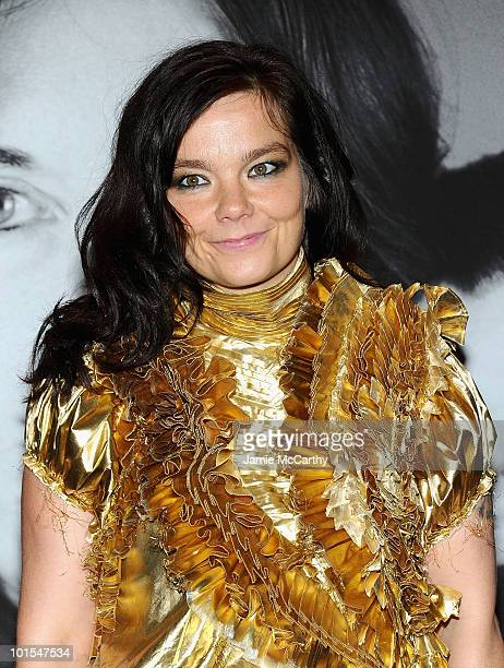 Bjork attends the closing of Marina Abramovic's 'The Artist is Present' hosted by Givenchy at The Museum of Modern Art on June 1 2010 in New York City