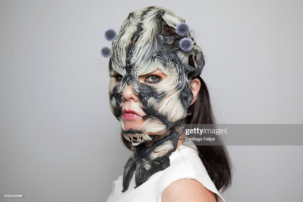 Bjork attends the 'Making of Bjork Digital' at the National Museum of Emerging Science on June 28, 2016 in Tokyo, Japan. In the event Bjork delivered world's first 360-degree virtual reality live streaming performance for the first time in the world. The recorded performance will be exhibited at 'Bjork Digital - Music and Virtual Reality' from June 29 to July 18, 2016.