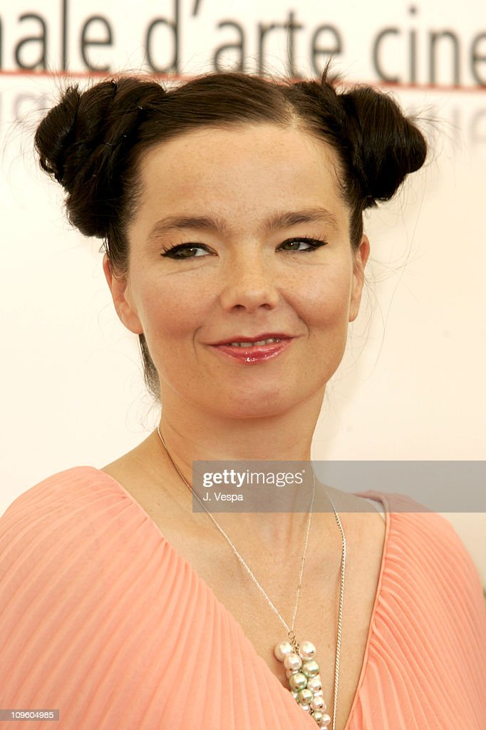 Bjork during 2005 Venice Film Festival - 'Drawing Restarint 9' - Photocall at Casino Palace in Venice Lido, Italy.