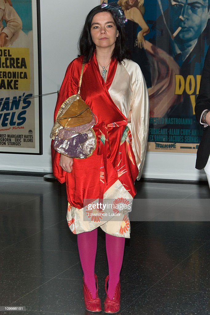 Bjork during Drawing Restraint 9 New York City Screening - March 28, 2006 at Museum of Modern Art in New York City, New York, United States.